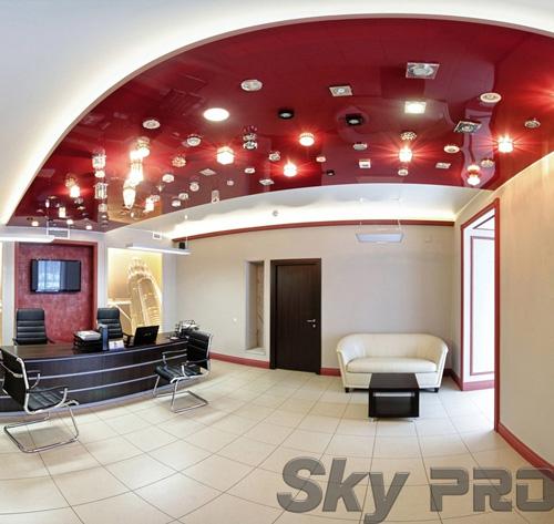 светильники в офисе SkyPRO в Окуловке